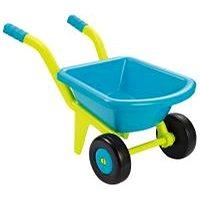 Ecoiffier Kolečko žlutomodré se 2 kolečky - Dětské zahradní kolečko