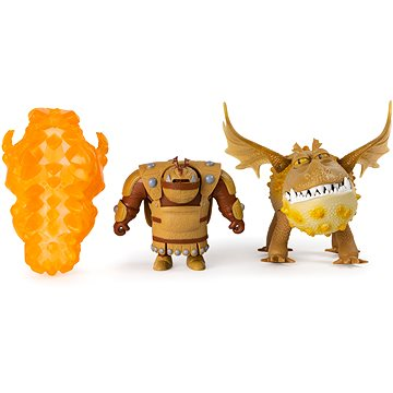 Draci 3 Drak a viking - Fishlegs & Meatlug The Hidden world - Figurka