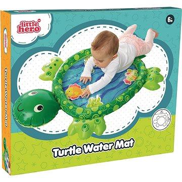 Zábavná vodní podložka želva - Hračka pro nejmenší