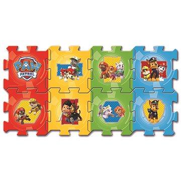 Pěnové puzzle Tlapková patrola modré - Pěnové puzzle