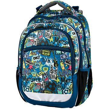 Stil Batoh Comics - Školní batoh