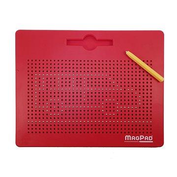 Magnetická tabulka Magpad - Červená - BIG 714 kuliček - Tabule