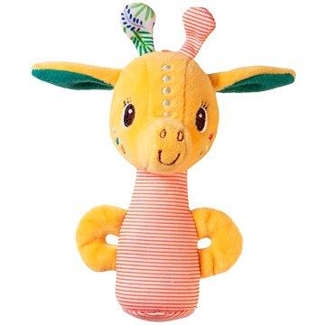 Lilliputiens - žirafa Zia - malé chrastítko - Chrastítko a kousátko