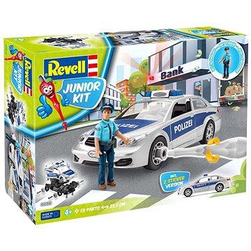 Junior Kit auto 00820 - Police Car with figure - Model auta