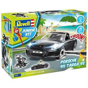 Junior Kit auto 00822 - Porsche 911 Targa 4S (světelné a zvukové efekty) - Model auta