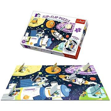 Trefl Okénkové puzzle Vesmír 36 dílků - Puzzle