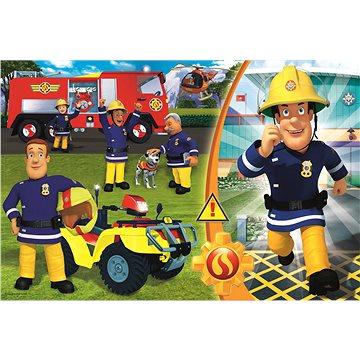 Trefl Puzzle Požárník Sam MAXI 24 dílků - Puzzle