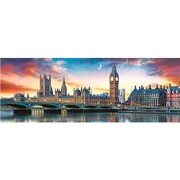 Trefl Panoramatické puzzle Big Ben a Westminsterský palác, Londýn 500 dílků - Puzzle
