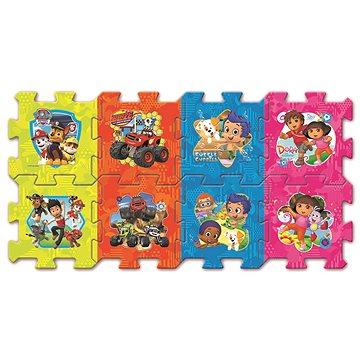 Trefl Pěnové puzzle Pohádky Nickelodeon s Tlapkovou patrolou - Pěnové puzzle