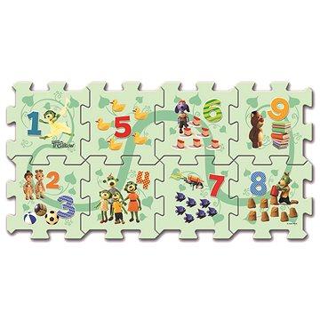 Pěnové puzzle Počítání s Treflíky - Pěnové puzzle