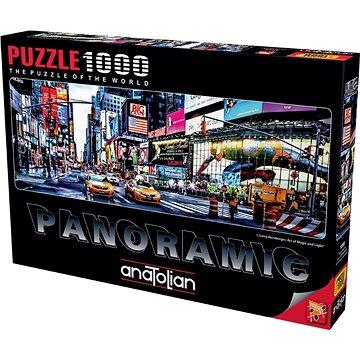 Anatolian Panoramatické puzzle Times Square 1000 dílků - Puzzle