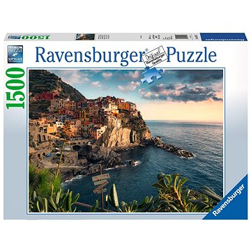 Ravensburger 162277 Pohled na Cinque Terre - Puzzle