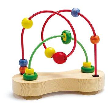 Hape Motorický labyrint dvojitý - Didaktická hračka