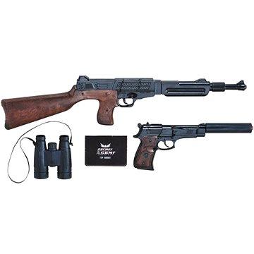 Policejní sada Top Secret kapslíková - Dětská pistole