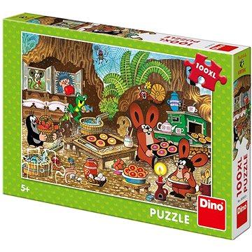 Dino Krtek v kuchyni 100xl puzzle nové - Puzzle