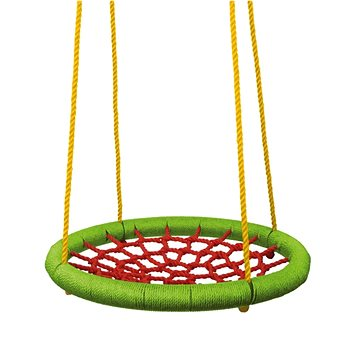 Woody Houpací kruh (průměr 83cm) - zelenočervený - Houpačka