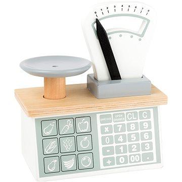 Small Foot Kuchyňská váha - Dřevěná hračka