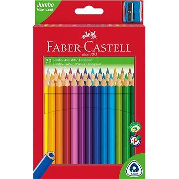 Faber-Castell Jumbo, 30 barev - Pastelky