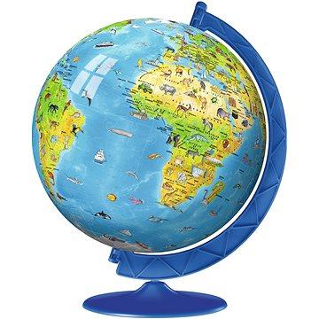 Ravensburger 123384 Ball Dětský Globus (anglický) - 3D puzzle