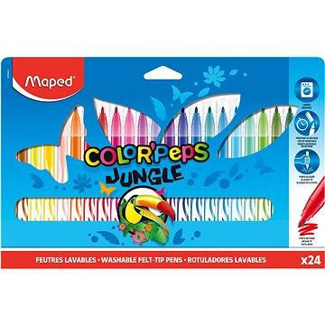 Maped Color Peps Jungle 24 barev - Fixy
