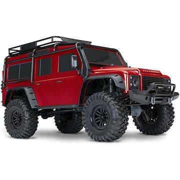 Traxxas TRX-4 Land Rover Defender 1:10 TQi RTR červený - RC auto na dálkové ovládání