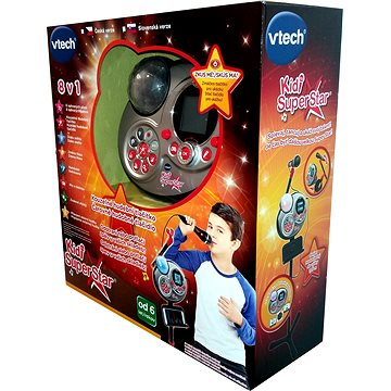 Kidi Super Star SK - čierná SK verze - Mikrofon
