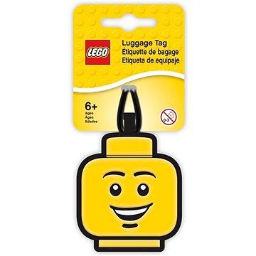 LEGO Iconic Jmenovka na zavazadlo - Hlava kluka - Jmenovky na zavazadlo