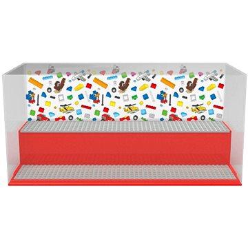 LEGO Iconic Herní a sběratelská skříňka - červená - Úložný box