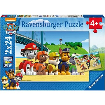Ravensburger 90648 Tlapková Patrola: Stateční psi  - Puzzle