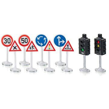 Siku World - Semafory s dopravními značkami - Rozšíření pro auta, vlaky, modely