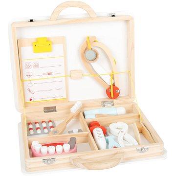 Small Foot Dětský doktorský kufřík pro malé zubaře 2v1 - Lékařská taška
