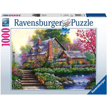 Ravensburger 151844 Romantická chata 1000 dílků - Puzzle