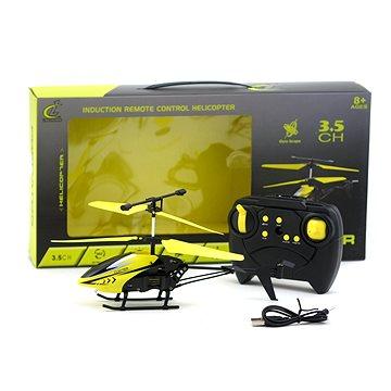 Vrtulník na ovládání, kovový, USB nabíječka - Vrtulník na dálkové ovládání