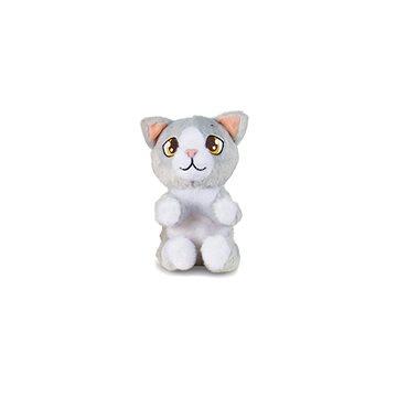 Mini Tickles kočička šedá - Zvířátko