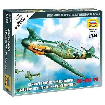 Wargames (WWII) letadlo 6116 - Messerschmitt Bf 109F-2 - Model letadla