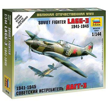 Wargames (WWII) letadlo 6118 - Soviet Fighter LaGG-3 - Model letadla
