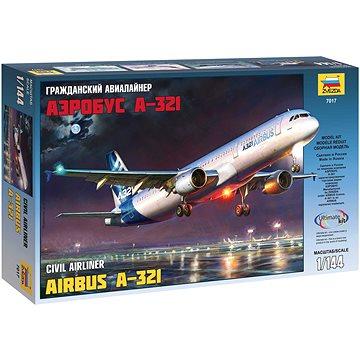 Model Kit letadlo 7017 - Airbus A-321 - Model letadla