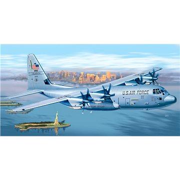 Model Kit letadlo PRM edice 1255 - C-130 J Hercules - Model letadla