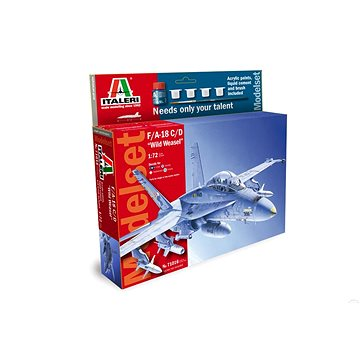 "Model Set letadlo 71016 - F/A-18 C/D ""Wild Weasel"" - Model letadla"