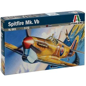 Model Kit letadlo 0001 - Spitfire Mk.Vb - Model letadla