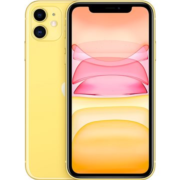 iPhone 11 256GB žlutá - Mobilní telefon