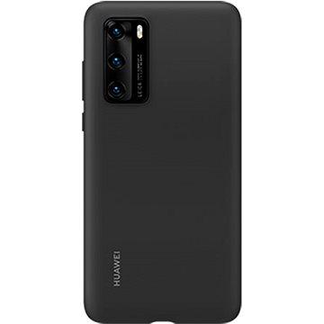 Huawei Original Silikonové Pouzdro Black pro P40 - Kryt na mobil