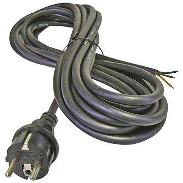 EMOS Flexo šňůra gumová 3× 1,5mm2, 5m, černá - Napájecí kabel