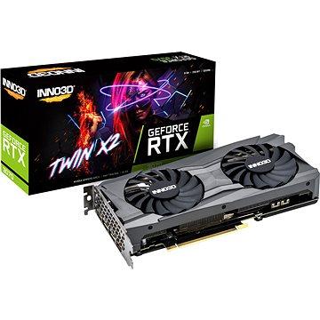 Inno3D GeForce RTX 3070 Twin X2 - Grafická karta
