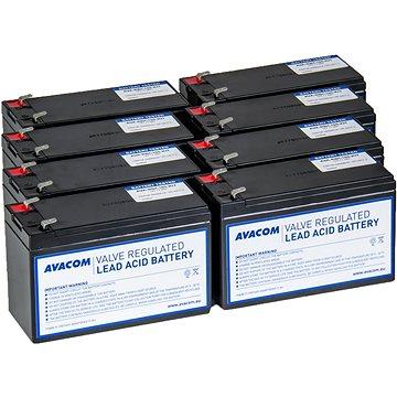 Avacom bateriový kit pro renovaci RBC105 (8ks baterií) - Nabíjecí baterie