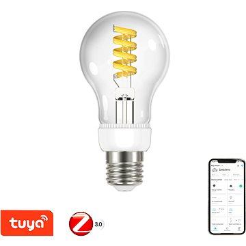 Immax Neo SMART LED filament E27 5W, teplá - studená bílá, stmívatelná, Zigbee 3.0 - LED žárovka