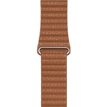 Apple Watch 44mm Sedlově hnědý Kožený řemínek - Large - Řemínek