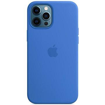 Apple iPhone 12 Pro Max Silikonový kryt s MagSafe středomořsky modrý - Kryt na mobil