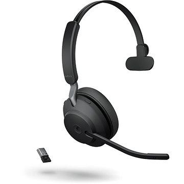 Jabra Evolve2 65 MS Mono USB-A Black - Náhlavní souprava