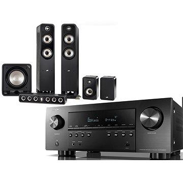 DENON AVR-S960H Black + Polk Audio S55e + S35Ce + S15e + HTS 12 - Set